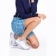 KINONA Tailored and Trim Short - Mediterranean Check
