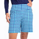 KINONA Tailored and Trim Short - Mediterranean Check