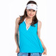 KINONA Waistline Winner Sleeveless Top - Mediterranean Blue