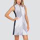 Tail Sandra Sleeveless Golf Dress - Expedition Stripe