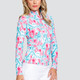 Tail Atlantis UV50 Long Sleeve Sun Mock - Flamboyance