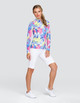 Tail Atlantis UV50 Long Sleeve Sun Mock - Prism Palm