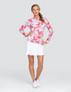 Tail Cora UV50 Long Sleeve Sun Mock - Painted Petals