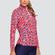 Tail Cora UV50 Long Sleeve Sun Mock - Panther Pop