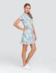 Tail Neale UV50 Short Sleeve Golf Dress - Ditsy Daisy