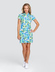 Tail Neale UV50 Short Sleeve Golf Dress - Tangled Tropics