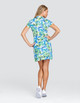 Tail Neale UV50 Short Sleeve Golf Dress - Tangled Tropics