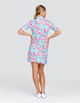 Tail Zaya UV50 Half Sleeve Golf Dress - Flamboyance