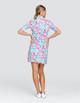Tail Zaya UV50 Half Sleeve Golf Dress - Flamboyance