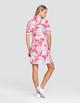 Tail Zaya UV50 Half Sleeve Golf Dress - Painted Petals