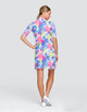 Tail Zaya UV50 Half Sleeve Golf Dress - Prism Palm