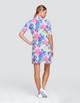 Tail Zaya UV50 Half Sleeve Golf Dress - Prism Palm
