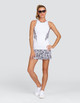 Tail Diamond Tennis Tank - Chalk
