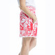 KINONA Down The Middle Golf Skort - Watermelon Floral