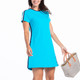 To A Tee Short Sleeve Golf Dress