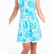 KINONA Swing & Swish Sleeveless Golf Dress - Mediterranean Floral