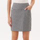 Masters Golf Skort - Black/White Gingham