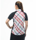 SanSoleil SolCool Short Sleeve Polo - Hop Scotch