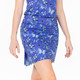 Marissa Pleat Skort Blue Butterfly