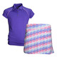 Garb Girls Savannah Performance Golf Polo