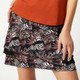 GGblue Court Golf Skort - Egret/Black Feather