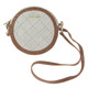 Cutler Fiji Tan Small Round Purse