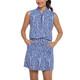 IBKUL Carie Sleeveless Drawstring Dress