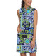 IBKUL Jacklin Sleeveless Mock Dress
