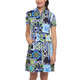 IBKUL Jacklin Short Sleeve Mock Dress