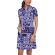 IBKUL Jacklin Short Sleeve Mock Dress
