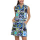 IBKUL Jacklin Sleeveless Drawstring Dress