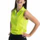 KINONA Keep It Covered Sleeveless Mock - Chartreuse