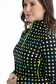 KINONA Keep It Covered Long Sleeve Top - Optic Dot