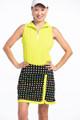 KINONA Simply Sassy Golf Skort - Optic Dot