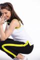 """KINONA Tailored Track Trouser Pant 28"""" - Black/Chartreuse"""