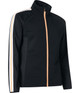 Abacus Turnberry 3D Stripe Fleece Jacket - Black/Apricot