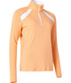 Abacus Yale Long Sleeve Mock - Apricot