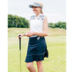 "Abacus Eden 19"" Golf Skort - Navy/White"