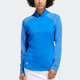 Adidas Long Sleeve Mock - Glory Blue