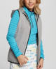 Cutter & Buck Cora Reversible Quilted Vest with Hood