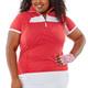 Nancy Lopez Zone Short Sleeve Polo (Spring Solids)