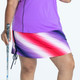KINONA Rouched and Ready Golf Skort - Ombre