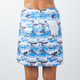 Amy Sport Monarch Beach Skort - Mystic Blue Camo