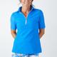 Amy Sport Katelyn Long Sleeve Mock - Mystic Blue