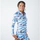 Amy Sport Katelyn Long Sleeve Mock - Mystic Blue Camo