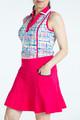 KINONA Shape Shifter Sleeveless Polo - Blurred Lines