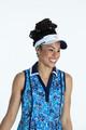 KINONA Shape Shifter Sleeveless Polo - Crazy Daisy