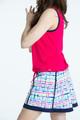 KINONA Free and Easy Sleeveless Top - Raspberry Red