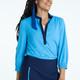 KINONA Swing Easy 3/4 Sleeve Shirt - Cornflower Blue