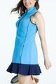 KINONA Fit & Flare Golf Dress - Cornflower Blue